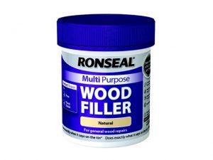Ronseal Multi Purpose Wood Filler Tub Natural 250g