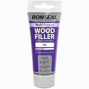 Ronseal Multi Purpose Wood Filler Tube White 100g