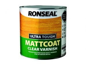 Ronseal Mattcoat Interior Clear Varnish 250ml