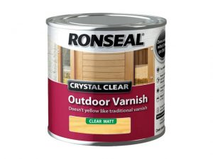 Ronseal Outdoor Varnish Matt Clear 250ml