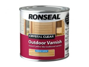 Ronseal Outdoor Varnish Satin Clear 250ml