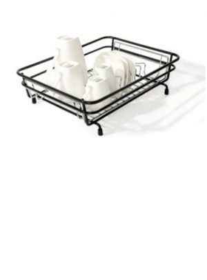 Compact Dish Drainer (Black Frame)