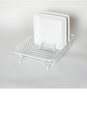 Compact Dish Drainer- White