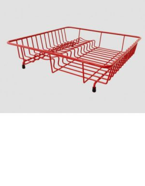 Standard Dish Drainer- Red
