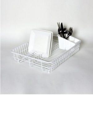 Large Dish Drainer- White
