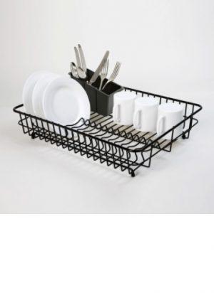 Large Dish Drainer- Black