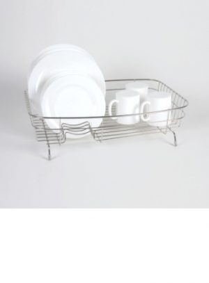 Oval Large Dish Drainer- Stainless Steel