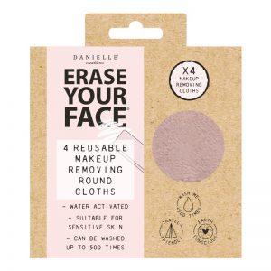 Danielle Eco Circular Makeup Removing Pads 4PK – Pastel