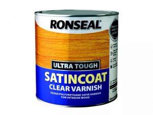 Ronseal Satincoat Interior Clear Varnish 250ml
