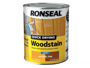 Ronseal Quick Dry Woodstain Satin Pine 750ml