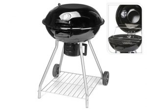 Vaggan Charcoal Kettle BBQ On Wheels 47cm