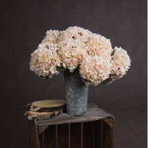 Artificial Flowers Autumn White Hydrangea