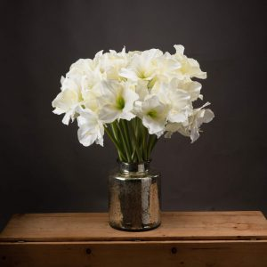 Artificial Flowers Classic White Amaryllis
