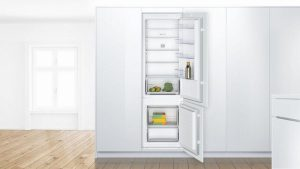 Bosch KIV87NSF0G Low Frost Built In Fridge Freezer