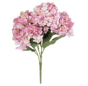 Artificial Flowers Shabby Pink Hydrangea