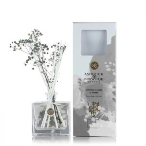 Ashleigh And Burwood Diffuser Grey Cotton Flower And Amber