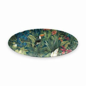 Lush Jungle Oval Serving Platter 60.8 X 24.8 X 2.4CM