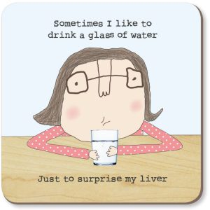 Rosie Made A Thing Coaster Surprise Liver