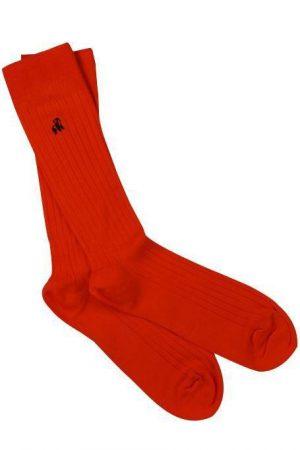 Swole Panda Socks Classic Red Mens 7-11