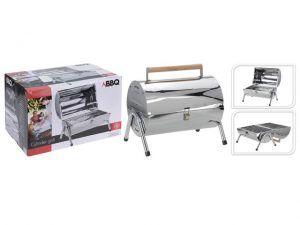 BBQ Cylinder Grill Stainless Steel