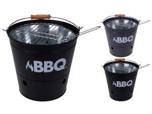 BBQ Bucket Black