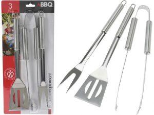 BBQ Tool Set – Tuner/Tongs/Fork