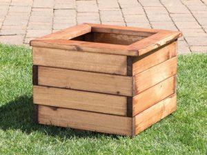 Wooden Planter Square Small