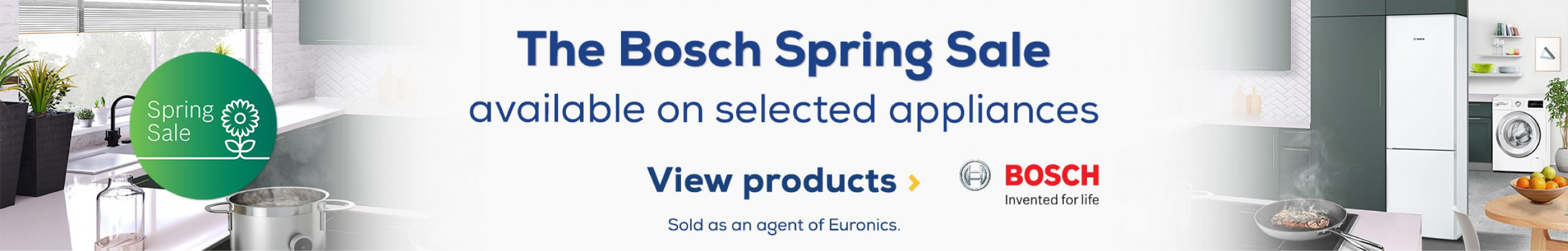 Bosch Spring Sale Web Banners