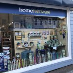 staines and brights dulux dispaly window