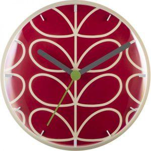 Orla Kiely Wall Clock Geranium