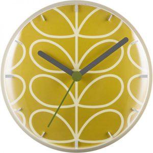 Orla Kiely Wall Clock Dandelion