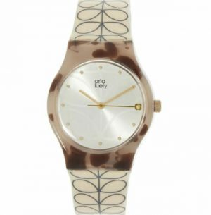 Orla Kiely Watch Cream Stem Print