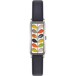 Orla Kiely Watch Stem Navy Strap