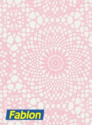 Fablon Soft Pink Contour Rose 45cm x 2m
