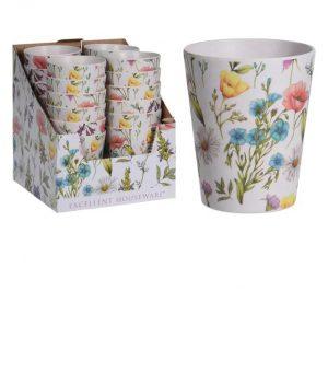 Bamboo Fibre Mug Lou Lou Flower 350ml