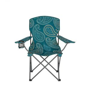 Highlander Camping Chair Sterling Paisley