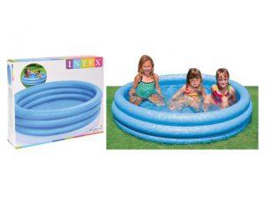 Intex Kids Pool + Repair Kit 168cm x 38cm Blue