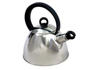 Sunnflair Nouveau Whistling Kettle Stainless Steel 2L
