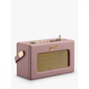 Roberts Revival Uno DAB Radio Dusky Pink