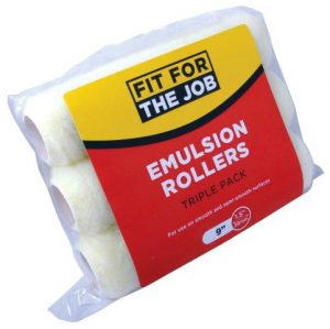 Emulsion Rollers triple pack 9″ x 1.5″