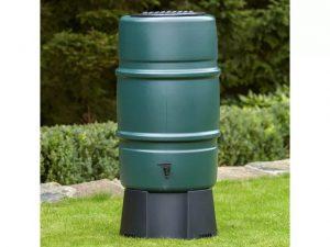 Harcostar Water Butt Kit Butt/Diverter/Stand 227L