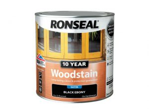 Ronseal 10 Year Woodstain Ebony 750ml