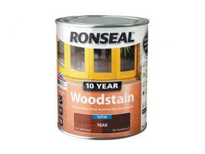 Ronseal 10 Year Woodstain Teak 750ml