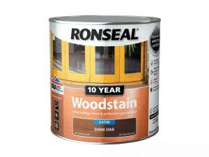 Ronseal 10 Year Woodstain Dark Oak 750ml