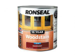 Ronseal 10 Year Woodstain Mahogany 750ml