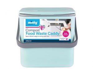 Minky Food Caddy Green