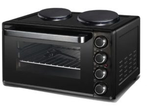 Tower Mini Oven and Double Hot Plate 32L