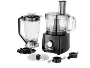 Tower Food Processor & Blender Black