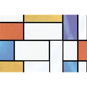 Fablon Window Mondriaan- 67.5cm x 2m