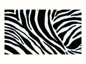 Fablon Zebra Print- 45cm x 2m